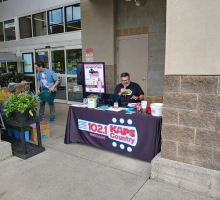 2019 KAPS/KBRC Christmas in July Food Drive at Safeway in Mount Vernon
