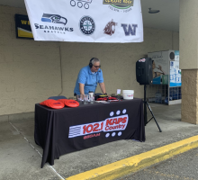 KAPS broadcasting at Kmart in Burlington