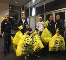 It was the Les Schwab Toy Drive at Fred Meyer on Dec. 16th
