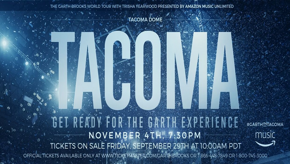 Garth Brooks at the Tacoma Dome