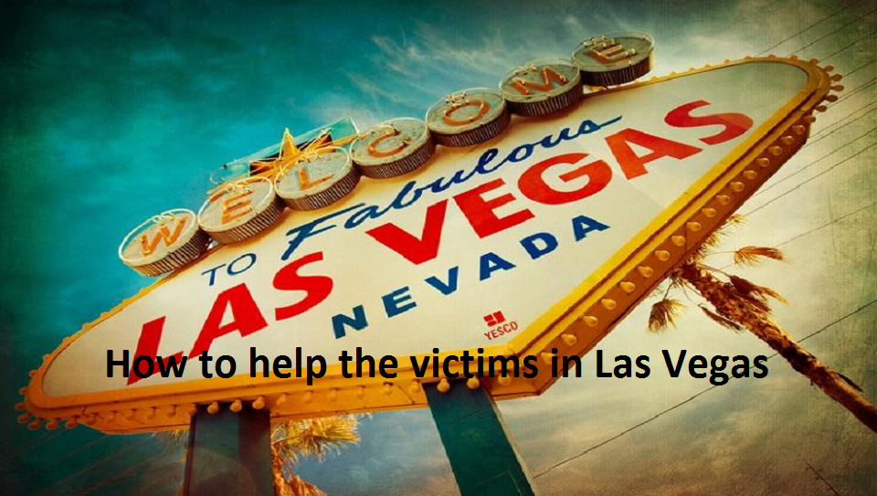 How to help the shooting victims in Las Vegas