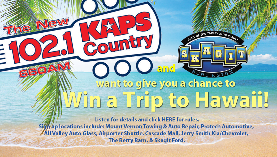 Win a Trip to Hawaii!